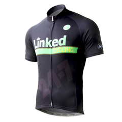 SILVER DIMPLY DRY Short Sleeve Cycling Jersey